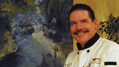 A newsmaker you should know: Chef's artistic sensibilities infuse restaurant menu