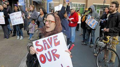 Parents decry state education cuts