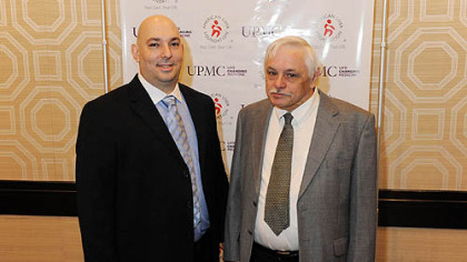 From left, Donato Coluccio and Richard Zelechowski.