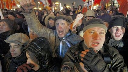 Protests break out, observers cite fraud in Russian election
