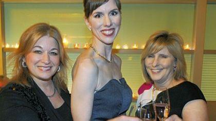 Lisa Edmonds, Caroline Lascek and Jennifer Kehm.