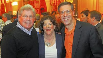 Jeff Markel, Cathy Samuels and Brian Schreiber.