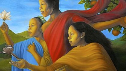 'Fruit of Generosity' by Leslie Ansley.