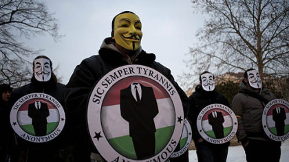 Anonymous hackers busted when one turns informant