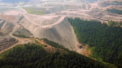West Virginia's landscape is changing with mountaintop removal mining.