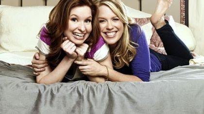 "Lennon Parham, left, and Jessica St. Clair star in ""Best Friends Forever."""