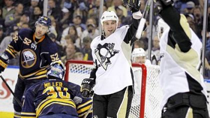 Veteran Steve Sullivan has proved to be a nice complement on Sidney Crosby's left side.