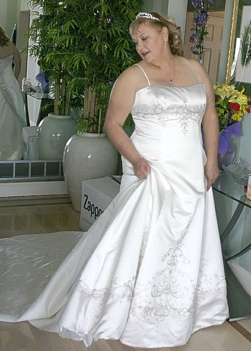 Christine michael wedding dresses wedding dresses asian for Wedding registry the knot