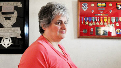 Rose Mary Sabo Brown of Hickory will be presented with the Medal of Honor from President Barack Obama on behalf of her husband, Leslie Sabo, who was killed in 1970 during a fierce battle in a Cambodian jungle.