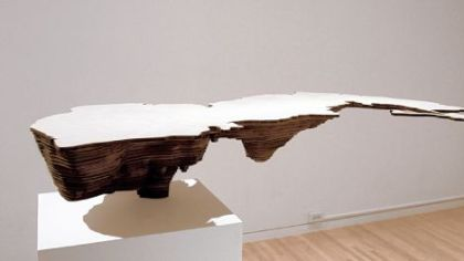 "Maya Lin's ""Caspian Sea"" (from 'Bodies of Water' series), 2006."