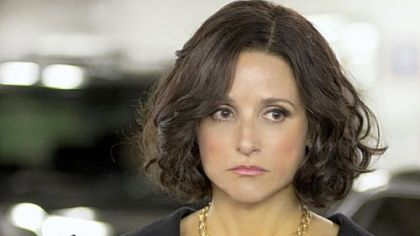 "Julia Louis-Dreyfus is the vice president in HBO's ""Veep."""