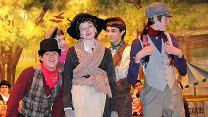 """... North Hills High School's presentation of 'My Fair Lady' is lively and refreshing all around."""