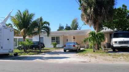 Kenneth Konias Jr. was captured at this house at 603 SW Eighth St. in Pompano Beach, Fla.