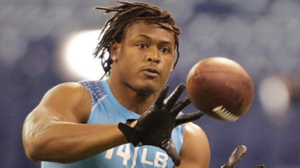Alabama linebacker Dont'a Hightower