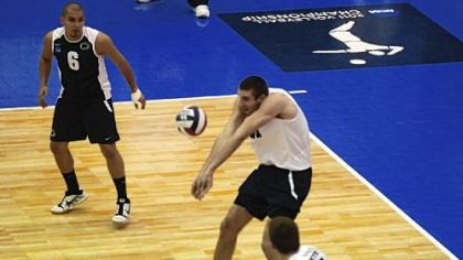 Hempfield Area graduate Joe Sunder hopes to finish his collegiate volleyball career at Penn State in the NCAA tournament.