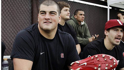 The Steelers selected Stanford guard David DeCastro with the No. 1 pick in tonight's NFL draft.