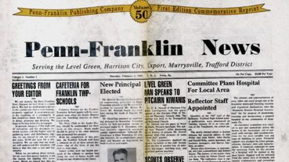 Penn-Franklin News dated February 6, 1947.