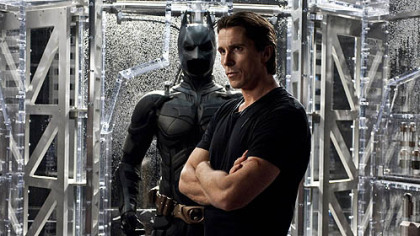 Christian Bale as Bruce Wayne in &quot;The Dark Knight Rises,&quot; which opens July 20.