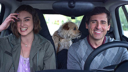 Keira Knightley stars as Penny and Steve Carell stars as Dodge in Lorene Scafaria&#039;s &quot;Seeking a Friend for the End of the World,&quot; which opens June 22.