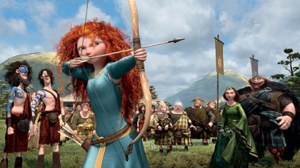 &quot;Brave,&quot; about a courageous young archer, is the latest from Disney-Pixar. It opens June 22.