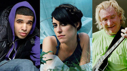 Coming to local venues this summer: Drake, Feist and Joe Walsh.