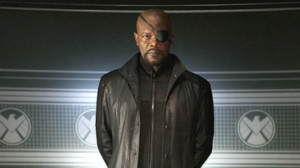 "Samuel L. Jackson stars as Nick Fury in ""Marvel's The Avengers."""