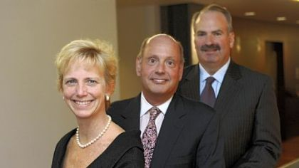Jones Day lawyers, from left, Laura Ellsworth, Roy Powell and Michael Ginsberg.