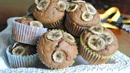 Gluten-Free Banana Nutella Muffins: Thank you, Devon Crosby-Helms