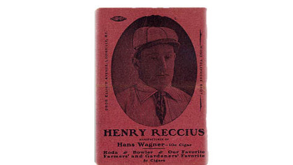 The Honus Wagner card, circa 1897-1899