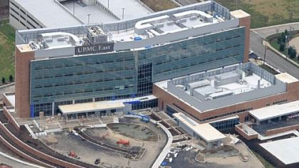 UPMC East is expected to open during the summer in Monroeville.