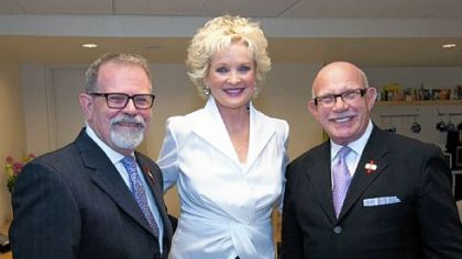 Steve Hough, Christine Ebersole and Nachum Golan.