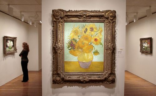 One Stroke Painting Sunflowers http://www.post-gazette.com/stories/ae/art-architecture/this-van-gogh-exhibit-outshines-all-others-85984/