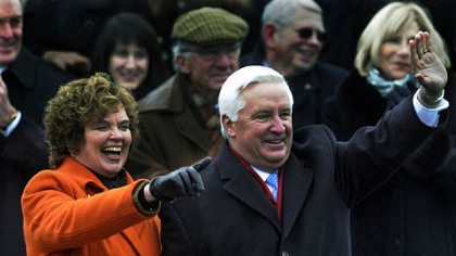 Gov. Tom Corbett and his wife, Susan.