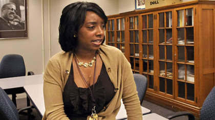 Westinghouse principal Shemeca Crenshaw is leading the school's reorganization after its attempt at single-gender classes.