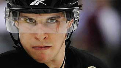 Penguins' center Sidney Crosby has not played since December.