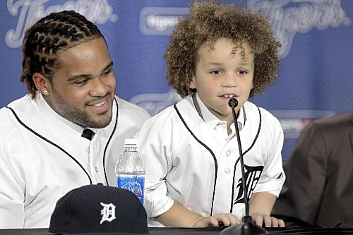 Prince Fielder Family Photo http://www.post-gazette.com/stories/sports/pirates/fielder-family-circle-is-complete-219736/