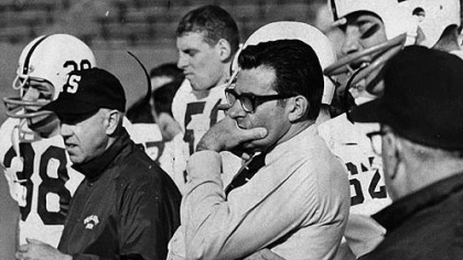Stubborn Pitt gave coach Joe Paterno cause for concern before his Penn State team pulled out 27-2 win on Nov. 22, 1969.