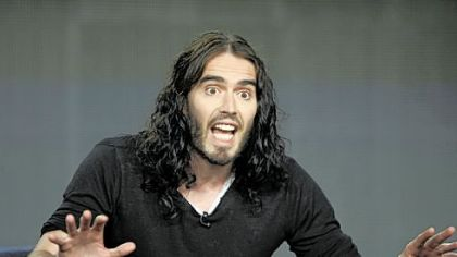 "Russell Brand will host a new late-night show, ""Strangely Uplifting,"" on FX starting in April. The unscripted, topical series will offer the British comedian's take on pop culture and politics and feature audience interaction."