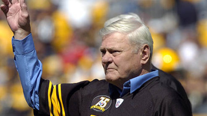Former Steeler Jack Butler is among those selected for the Pro Football Hall of Fame Class of 2012.