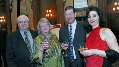 Nick and Anne Liparulo and Jim and Yvonne Balouris.