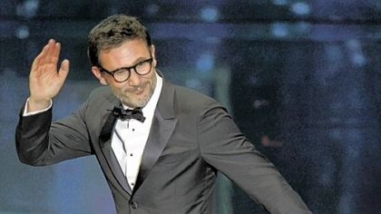 "Michel Hazanavicius won  best director for ""The Artist."""