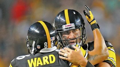 "Quarterback Ben Roethlisberger called Hines Ward, who was released Wednesday, to thank him for his time with the Steelers. ""Hines is Black and Gold,"" Roethlisberger said."
