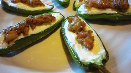 ... treat to your Bowl: Stuffed Jalapenos with Chorizo Sausage | PG Plate