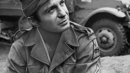"Ben Gazzara as Sgt. Angelo in ""The Bridge at Remagen"" (1969)."