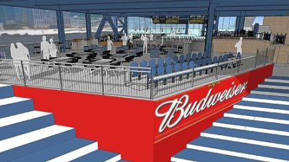 Budweiser Bowtie Bar at PNC Park will be open for business on opening day in April.