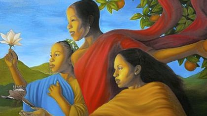 &#039;Fruit of Generosity&#039; by Leslie Ansley.