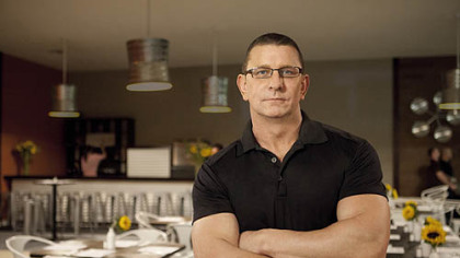 Chef Robert Irvine of the TV show &quot;Restaurant Impossible.&quot;