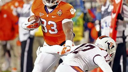 Clemson's Dwayne Allen: Ready for the West Virginia defense.