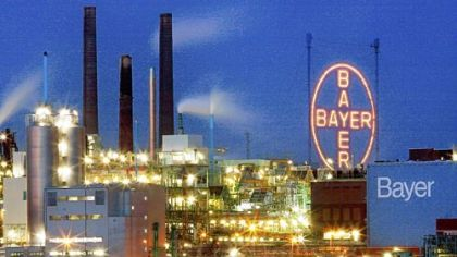 The plant of German pharmaceuticals and chemicals giant Bayer in Leverkusen, Germany. Bayer said Feb. 28 that it was confident about the outlook for the current year after nearly doubling profits in 2011.