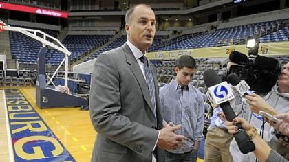 Bilas meets the local media Friday, a day before the show is to broadcast nationally.